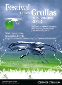 Cartel Festival de las Grullas