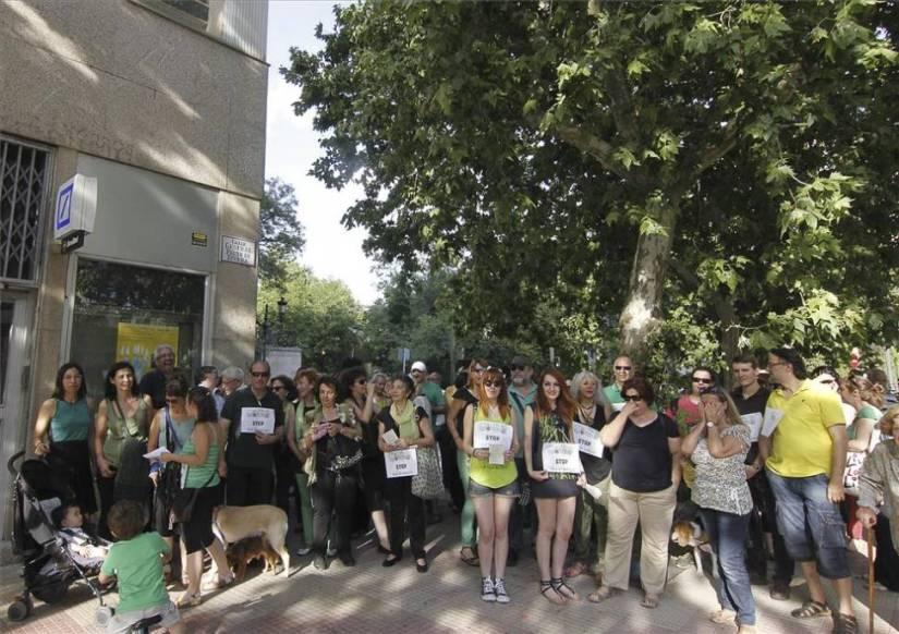 Protesta de CáceresVerde el pasado 2 de Junio
